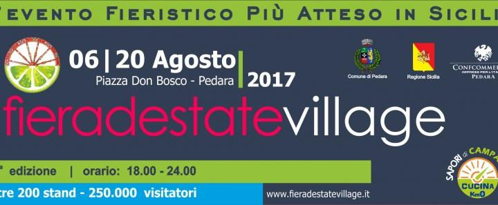 Fiera d'Estate Village a Pedara