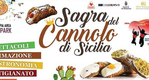 Sagra of Cannolo of Sicily in Aci Bonaccorsi