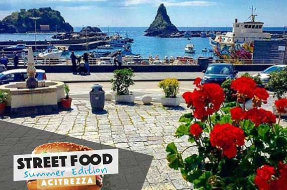 Street Food Summer Edition in Acitrezza