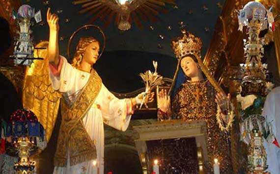 Feast of Maria SS. Annunziata in Pedara